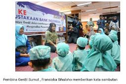 Tingkatkan Literasi Pada Anak, GenBI UINSU Kenalkan Perpustakaan