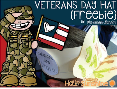 Veteran's Day Freebie!