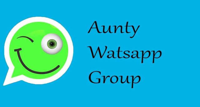 Aunty Whatsapp group