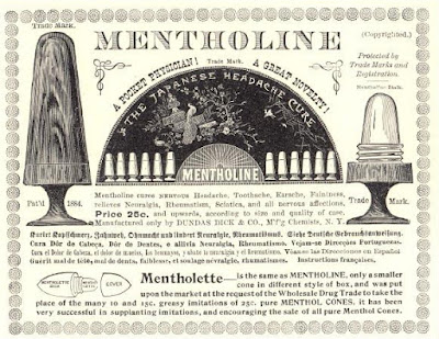 Mentholine - The Japanese Headache Cure