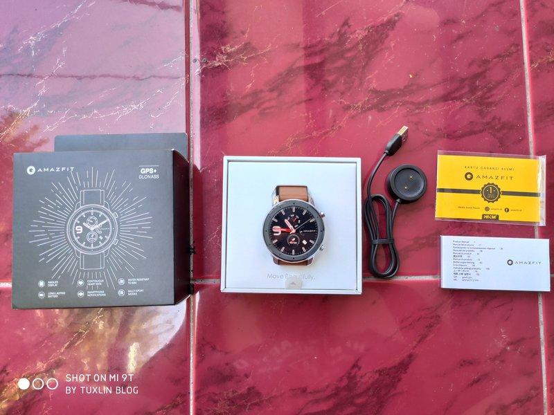 Paket Pembelian Amazfit GTR