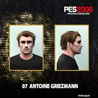 PES 6 Faces Antoine Griezmann by El SergioJr
