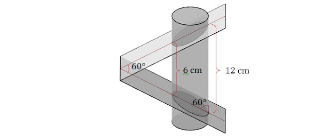 Tronco de cilindro | Exercício respondido