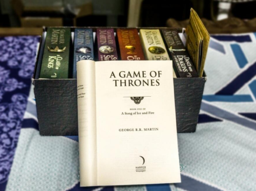 A Song of Ice and Fire - A Game of Thrones game of thrones books a dance with dragons