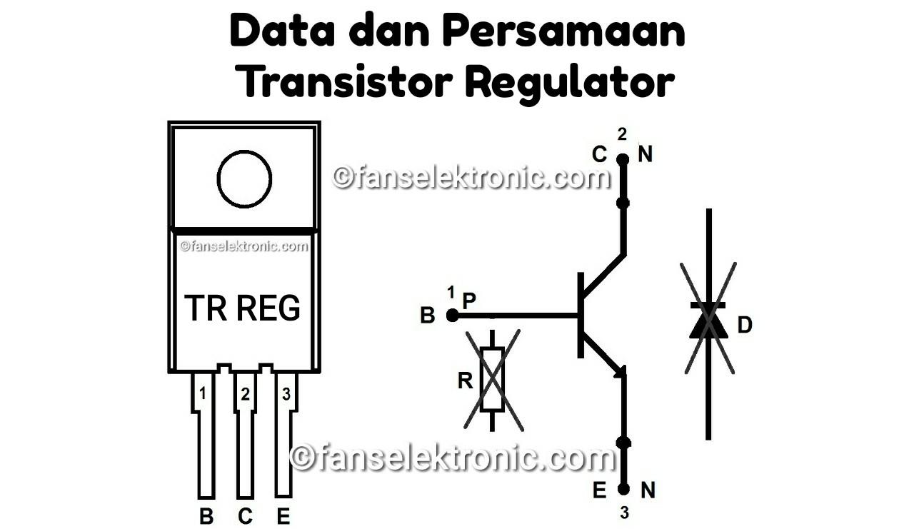 Kumpulan Data Persamaan Transistor Regulator Terlengkap