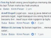 Soal Lakalawakatailabilah, Jokower Ini Sebut Itu Bukan Kesalahan, Tapi Logat Orang Jawa, Oh ya?