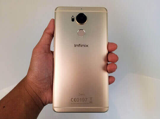 Infinix Zero 4 Plus' Back