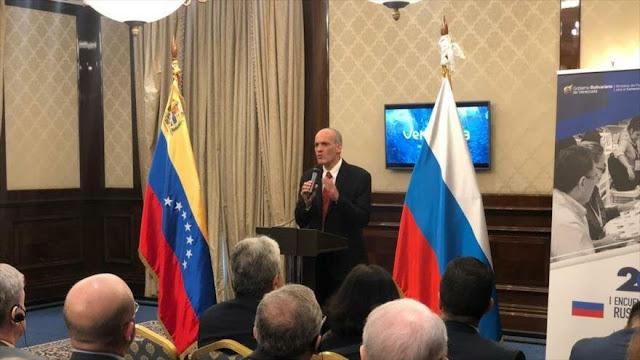 Venezuela espera romper bloqueo de EEUU con cooperación de Rusia