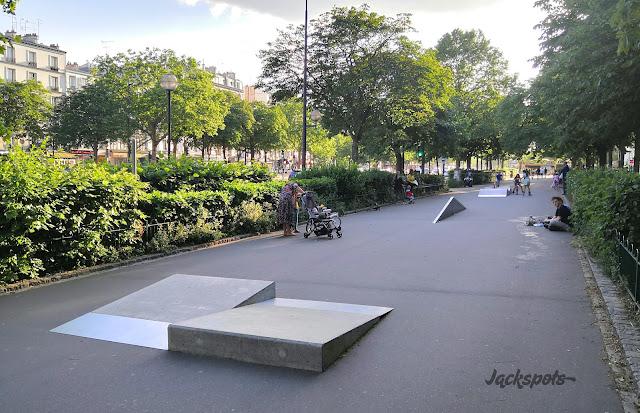 Skatepark Cours de Vincennes Nation Paris