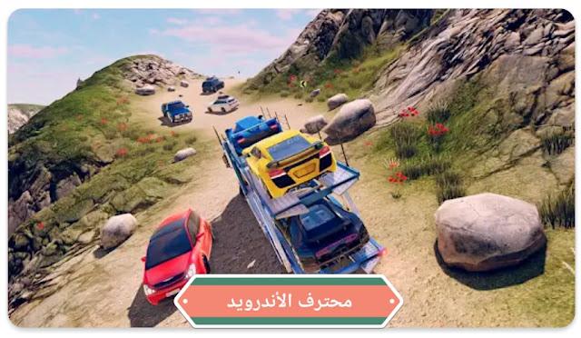 لعبة قيادة الشاحنات  John: Truck Car Transport