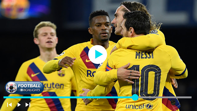 Napoli vs Barcelona Highlights