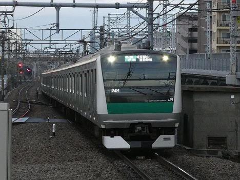 【ダイヤ改正で早朝だけ新設!】埼京線内 通勤快速となるE233系