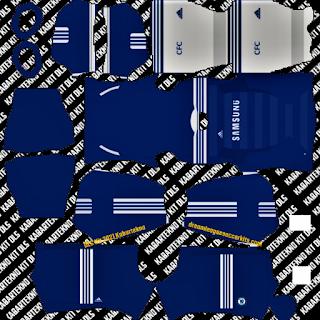 Chelsea FC 2011 Home Kit dls 2021