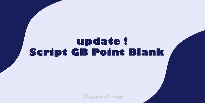 Script GB Bundir 1R Terbaru Point Blank Zepetto
