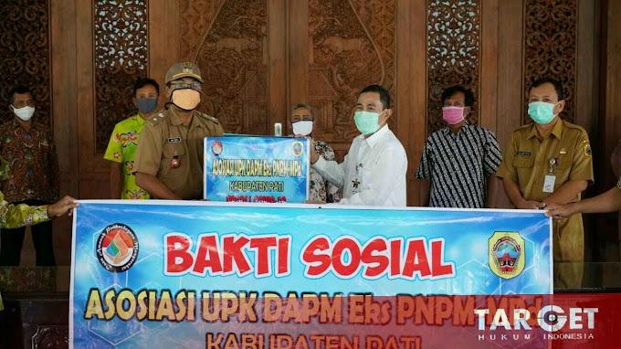 Ketua Gugus Tugas Covid-19 Terima Bantuan dari Asosiasi UPK DAPM Eks PNPM Mandiri Perdesaan
