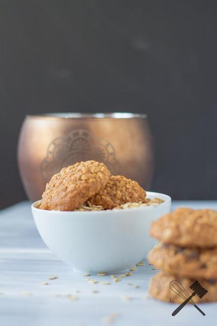 Hafer-Cranberry Cookies
