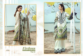 Shree fab Firdous Exclusive collection vol 8 pakistani suits