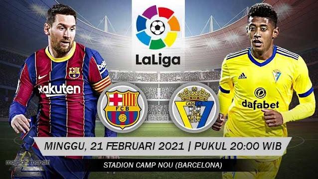 Prediksi Barcelona Vs Cadiz