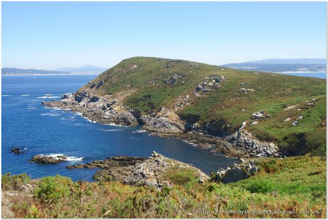 Punta do Centolo, no podemos llegar hasta el mirador