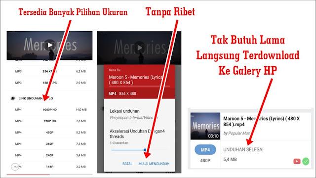 Cara Download Video Youtube Dari HP Android