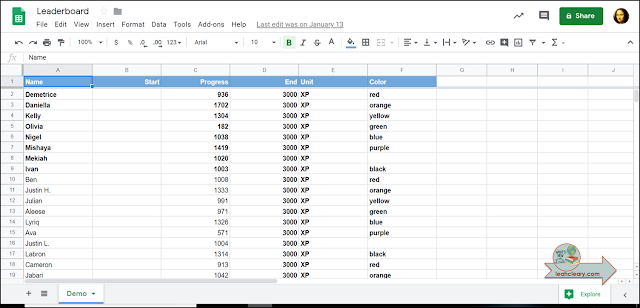 Data entry can be tedious, so my goal is to only have to enter it once. That's why I link my Google Sheets together. Click through to find out how I do it and to grab the free cheat sheet!