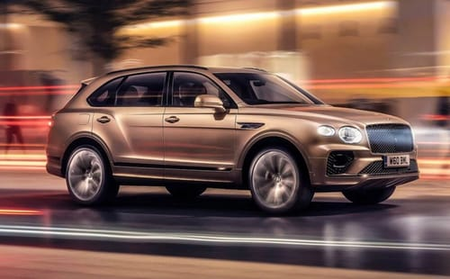 Bentley's first electric vehicle was an SUV