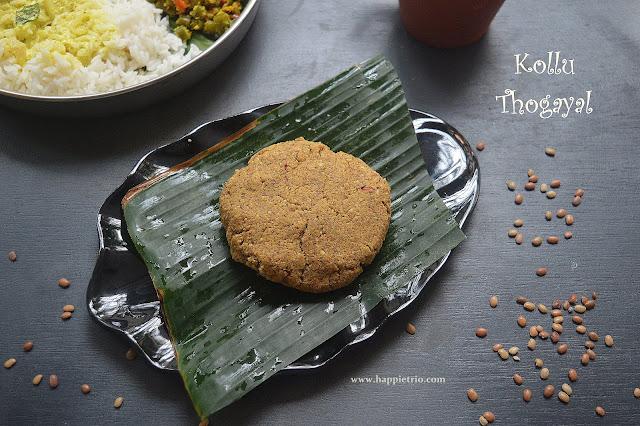 Kollu Thogayal Recipe | Horsegram Chutney Recipe | Kollu Recipes