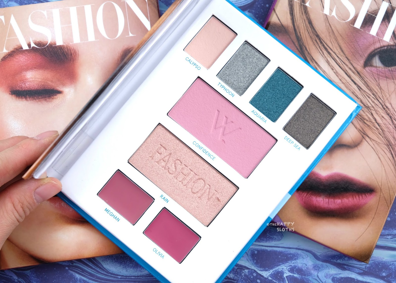 Lise Watier | Watier x Fashion Go with the Flow Palette: Review and Swatches