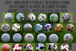 Balls Pack Server V13 (280+ Balls) AIO - PES 2020
