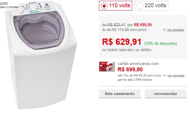 www.americanas.com.br/produto/113999412/lavadora-de-roupas-electrolux-6kg-ltd06-turbo-economia-branco?franq=AFL-03-117316&opn=YYNKZU&loja=02