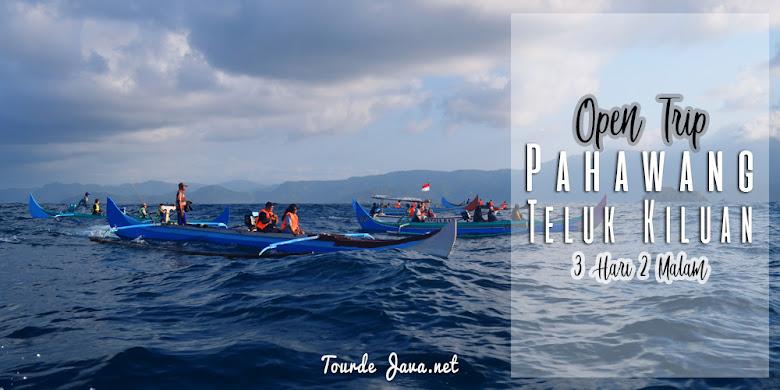 wisata 3 hari 2 malam di pahawang hingga jelajah teluk Kiluan lampung selatan