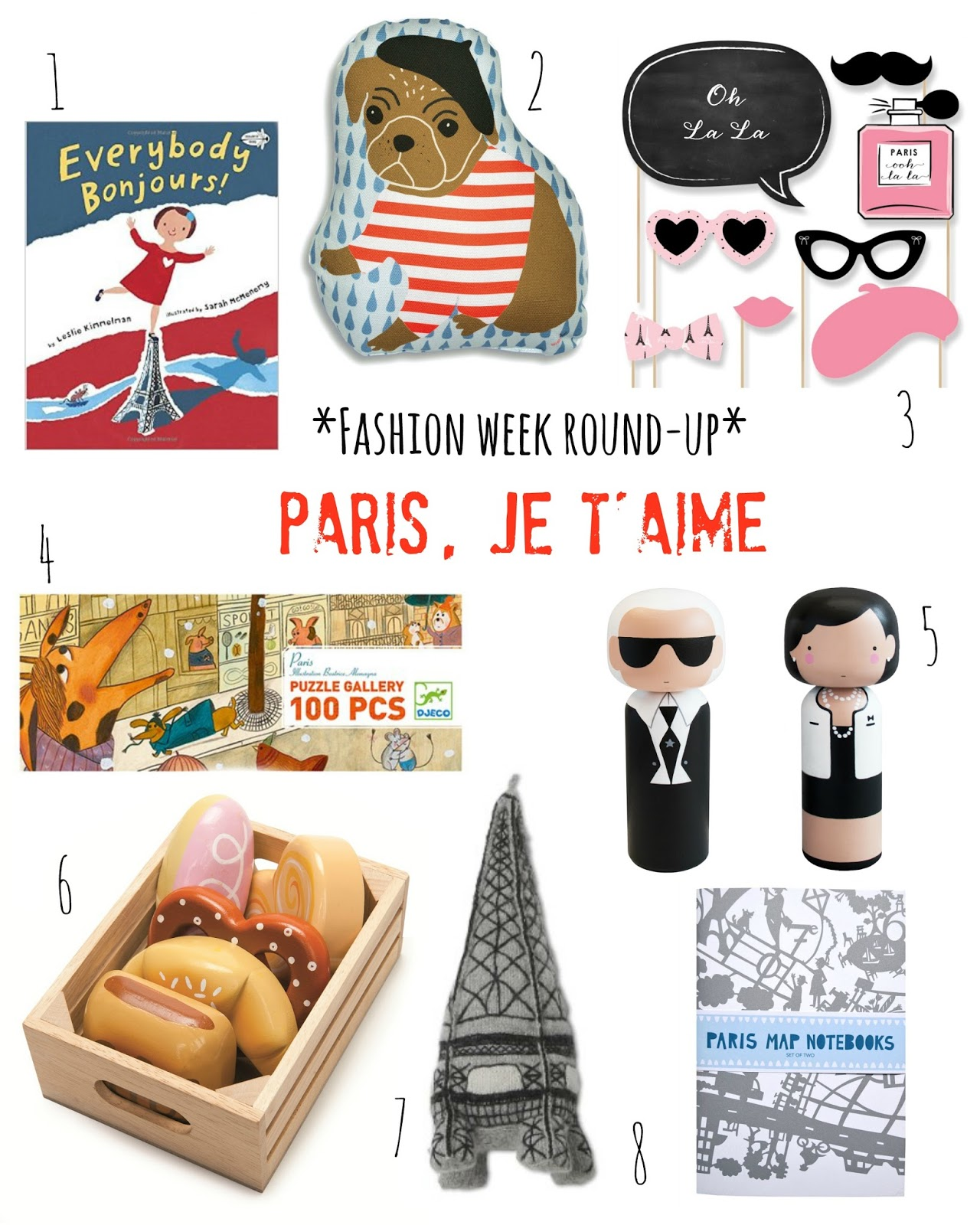 mamasVIB | V. I. BUSY BEES: 8 Mini fashionista buys inspired by Paris Fashion Week
