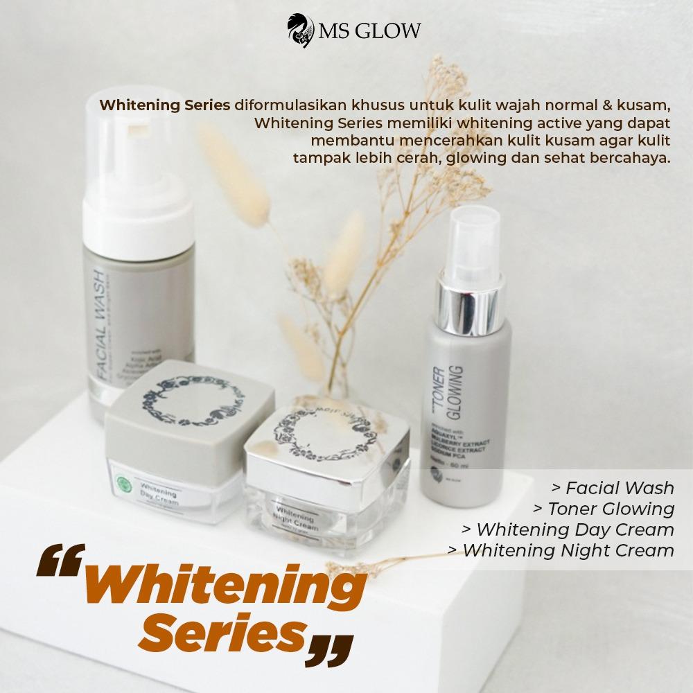MS GLOW whitening series