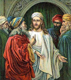 Pharisees Confront Jesus