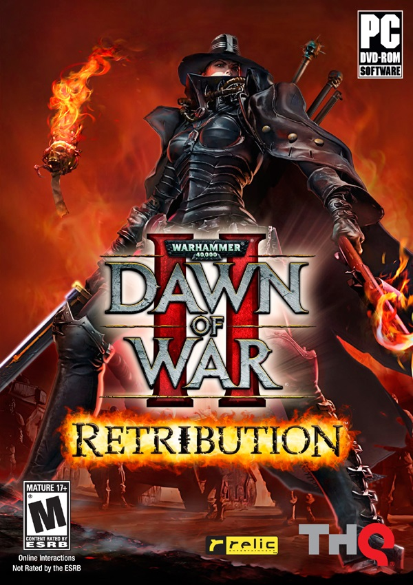 Warhammer 40000 Dawn of War II Retribution Download Cover Free Game