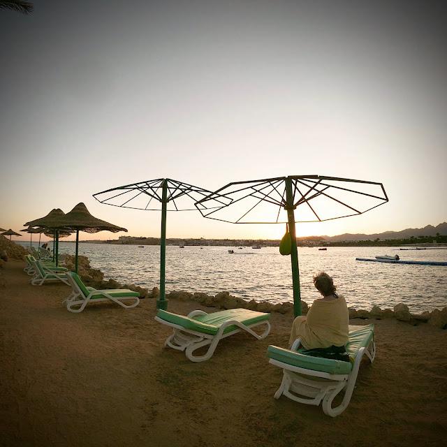 Sunset in Sharm el-Sheikh, Egypt