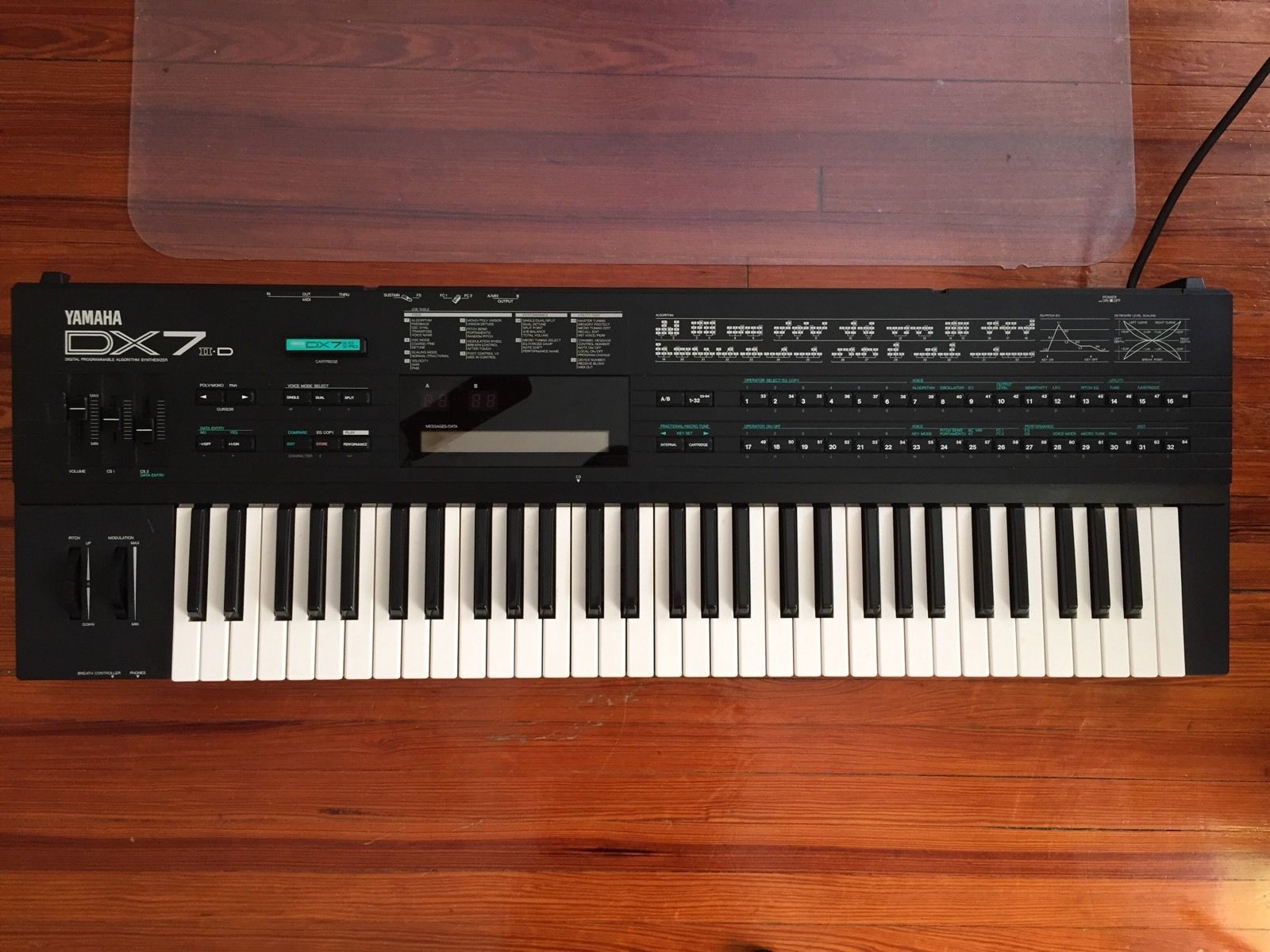 Yamaha Dx  Replaced What