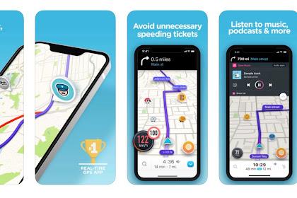 5 Aplikasi GPS Terbaik di iOs 2020