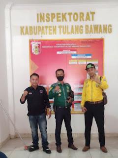 DPD LI-Bapan Provinsi Lampung Hadiri Undangan Inspektorat Tulang Bawang