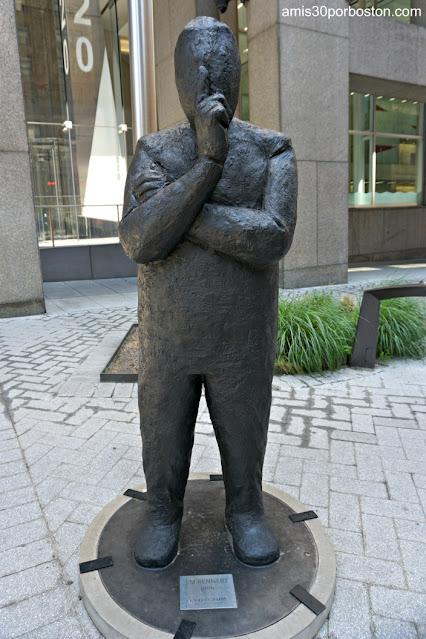 Esculturas de Jim Rennert en Pershing Square, Nueva York