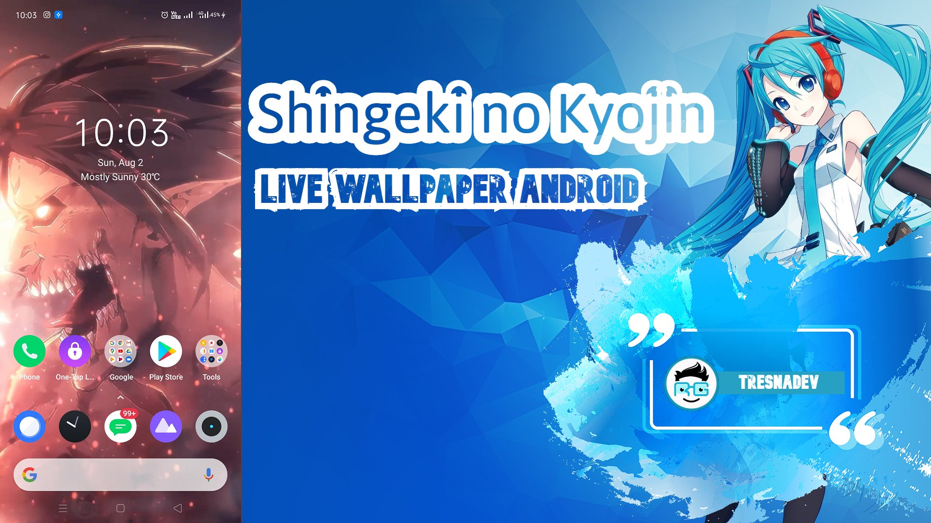 Shingeki No Kyojin Live Wallpaper Android Tresnadev
