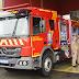 Prefeita Beti e Sergio Pinheiro entregam caminhão para combater incêndio ao Corpo de Bombeiros