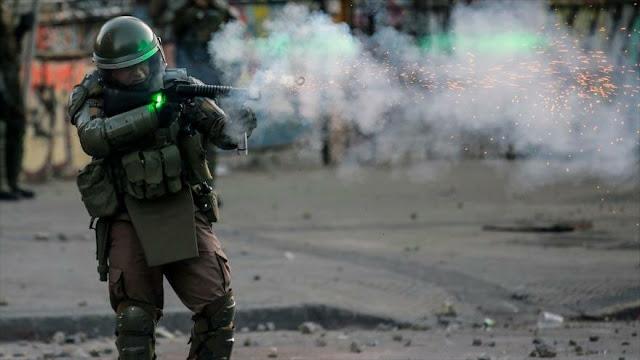 Represión brutal en Chile deja 5000 detenidos y casi 2000 heridos
