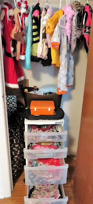 A neat, organized closet is essential