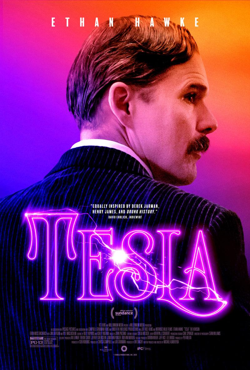tesla movie poster