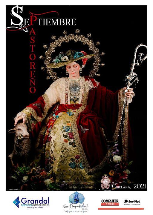 Cartel de la Festividad de la Divina Pastora Chiclana de la Frontera 2021