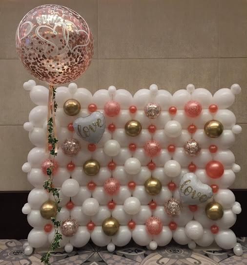 QuickLInk 'Love' Balloon Wall by Sue Bowler