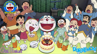 Doraemon chế Happy Birthday song