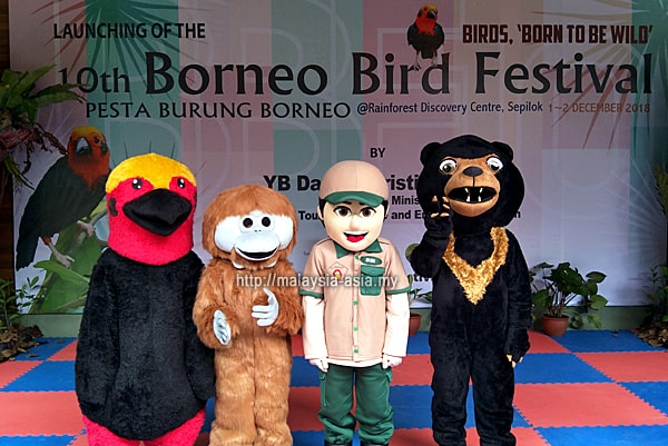 Review of Borneo Bird Festival 2018