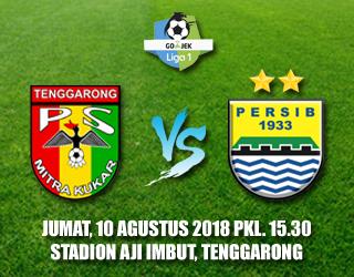 Mitra Kukar PS Persib 10 Agustus 2018